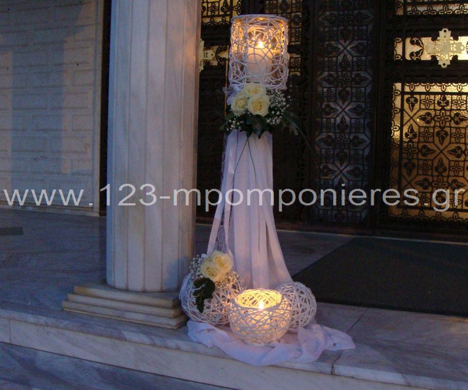 Ρομαντικούς στολισμός γάμου_28