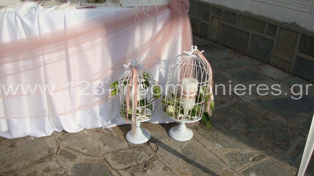 Στολισμός γάμου με φυσικά λουλούδια_29