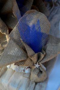 Στολισμός γάμου μπλε τριαντάφυλλα_36