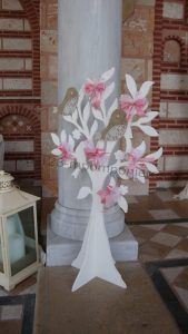 Στολισμός γαμοβάπτισης τριαντάφυλλα_03