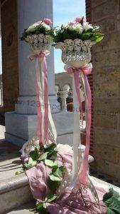 Στολισμός γαμοβάπτισης τριαντάφυλλα_13