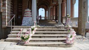 Στολισμός γαμοβάπτισης τριαντάφυλλα_16