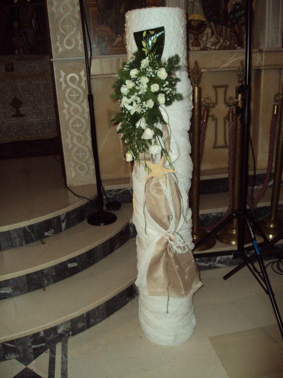 Στολισμός εκκλησίας για γάμο καλοκαίρι