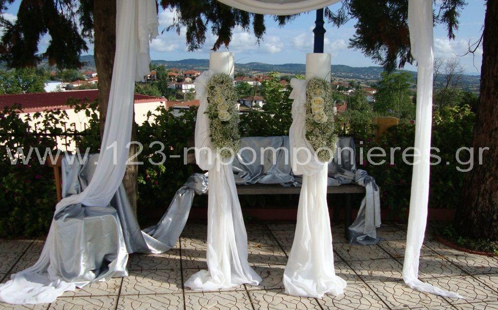 Λευκός στολισμός γάμου_27
