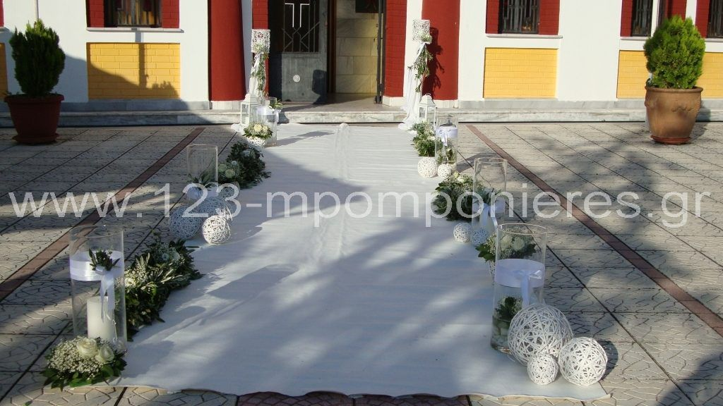 Λευκός στολισμός γάμου_39