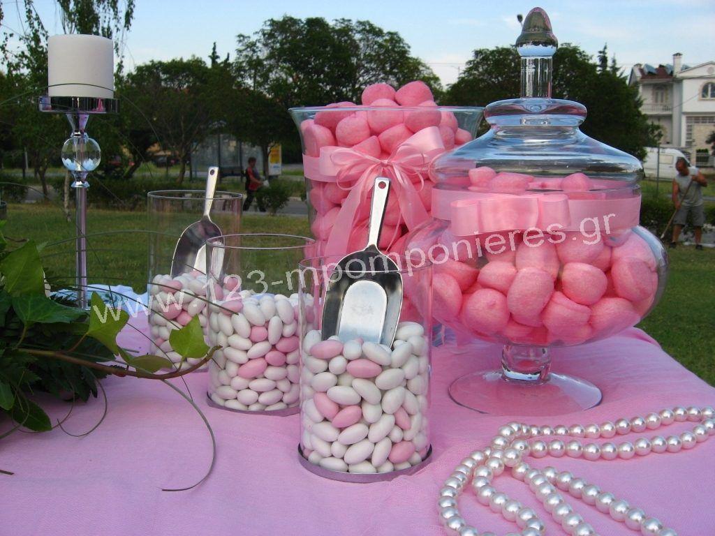 Ρομαντικός στολισμός γάμου ροζ_11
