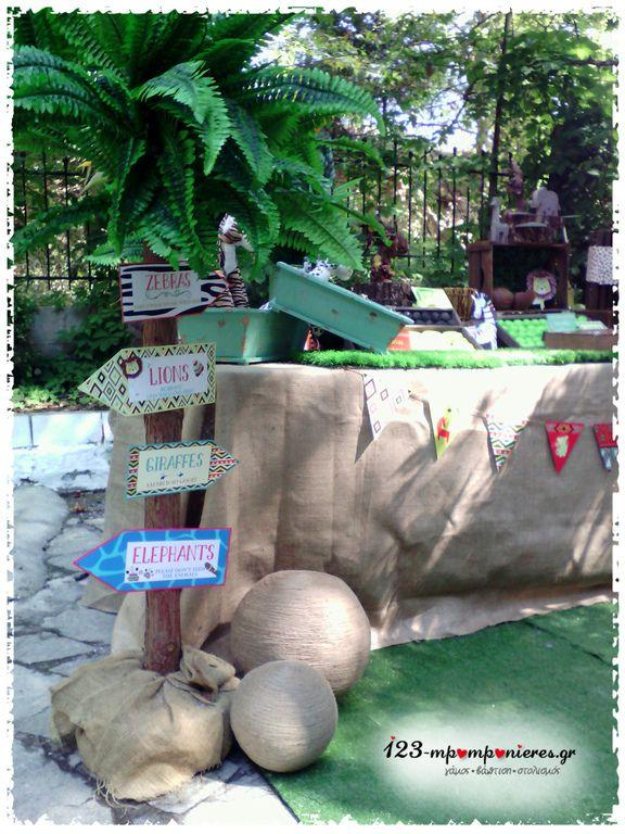 Στολισμοί βάπτισης για αγόρι Ζούγκλα_03