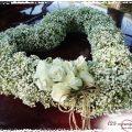 Εντυπωσιακός στολισμός γάμου με γυψοφίλη