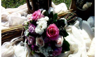 Γάμος στο κτήμα Γκούντα με ρουστίκ αλλά και ρομαντικό ύφος…